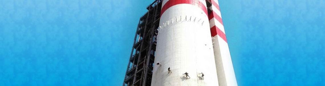 Покраска и ремонт дымовых труб